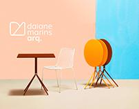 Daiane Marins Branding.