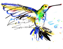 Artwork for musician - lettering, illustration, posters