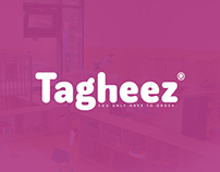 Tagheez Logo and Brand Identity Design