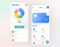 File Storage App Design