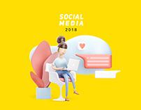 SOCIAL MEDIA DESIGNS 2018