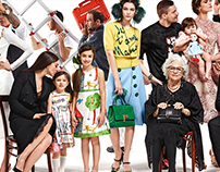 Dolce&Gabbana Brand Site - Redesign 2016