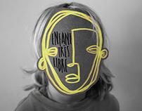 'Enfant très libre' Portrait Mask