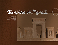 Empire of Persia - Arabic Style Typeface