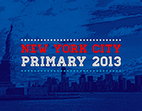 New York Primary 2013