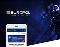 Europol Website Redesign