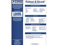 Palmer & Sicard Line Sheet