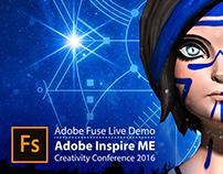 Adobe Fuse Live Demo