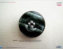 Audi Quattro: 25th Anniversary Concept Ads