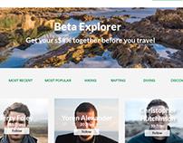 Beta Explorer