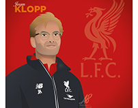 Jurgen Klopp Illustration
