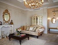 Дизайн квартиры в классическом стиле на Остоженке