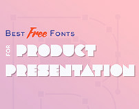 Best Free Fonts for Product Presentation