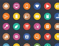 1000+ Universal Web Icons Bundle
