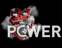V12 Motor Power 1600Hp