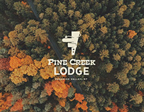 Logo & Art Direction for Pine Creek Lodge