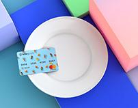 Kite Grub — Branding, Mobile App, Credit Card