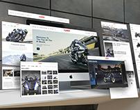 Yamaha Website Redesign