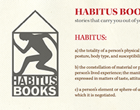 Habitus Books Colophon and Website