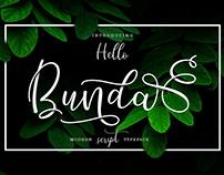 Free | Hello Bunda Font