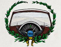 Ilustración Mini Cooper