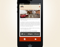 Petrolicious Mobile App Design