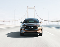 Infiniti QX50 with Nick Meek