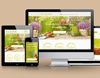 Gardening company website