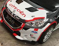 208 R5 MR Racing Design