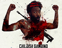 Childish Gambino 'This is America' Remix Artwork
