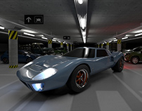 Ford GT40 1969 Estacionamiento