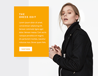 Fashion | Landing Page UI