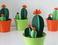 Paper Cactus Garden