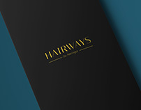 Hairways by Neringa - Logo & Pricelist design
