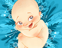 Baby Frederico Illustration