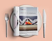Magazine advertising module