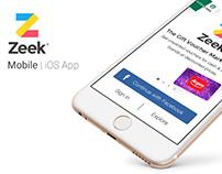 Zeek - Mobile iOS App