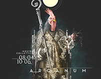 ARCANUM // Artwork and layout // Officina Lanificio