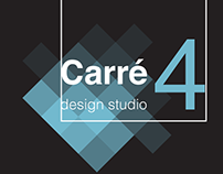 "Logo Design - ""Carré4 Design Studio"""