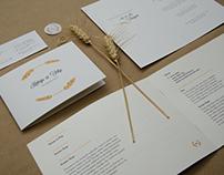 K & F Wedding Branding