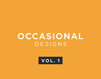 Occasional Designs | Social Media Creatives | Vol. 1