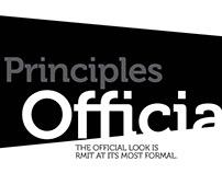 RMIT Brand Extension - Official Principles
