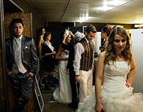 Backstage salon du mariage