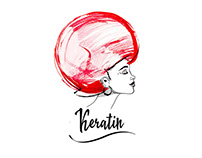 illustration Keratin.