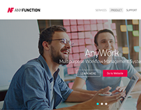 AnyFunction Web Site Design