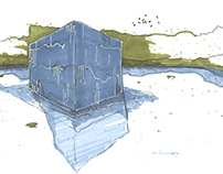 Cube d'eau - Thomas Boidin