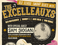 The Excelleauxs | Gig Posters