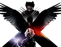 X-MEN LAST STAND: Advanced Key Visuals