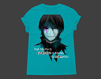 Anime Quote ( T-shirt Design)