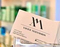 Xavier Matamoros logo design